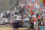 9. Mai: Russland feiert Sieg über Nazi-Deutschland - Nato übt Krieg gegen Russland