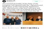marxistische linke, Partnerin der EL