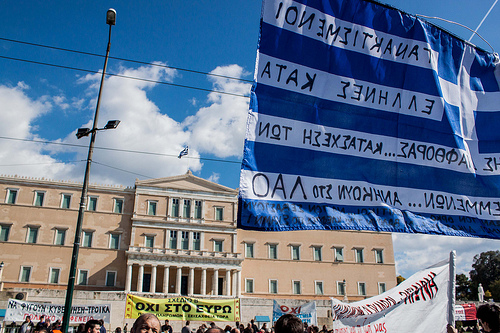 Griechenland Syntagma 20.2.2013 frostis