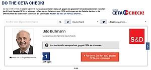 CETA-Check Aufforderung