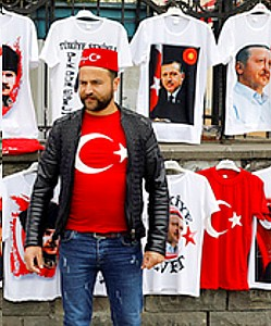 Tuerkei-Referendum Erdogan-Fan