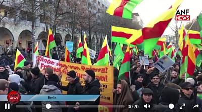 Demo 25Jahre PKK Verbot 18 12 01 Video