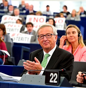 EU JC Juncker European Parliament
