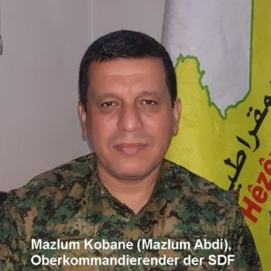 Mazlum Kobane SDF commander in chief