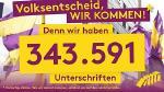 Radikale Maßnahmen: Der Volksentscheid kommt!