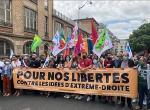 Frankreich: Aufmarsch für die Freiheit, gegen Rechtsextremismus