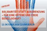 #unteilbar! Auf nach Berlin!