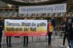 Turbulente Aktionärsversammlung bei Siemens