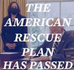 USA: Linke Reaktionen auf die Unterzeichnung des 1.9 Billionen Hilfspakets