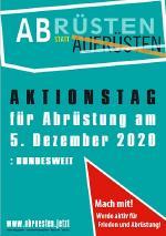5. Dezember: Aktionstag der Friedensbewegung -
