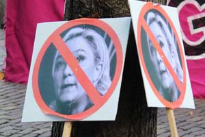 front national protest marie ll