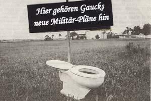Gauck Toilette Klaus Jann