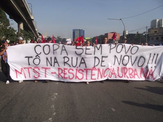Brasilien Protest-SaoPaulo 05.2014