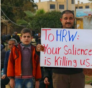 Syrien Afrin Your silence