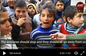Syrien Afrin airplanes should stop Video
