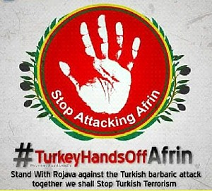 Syrien Hands off Afrin