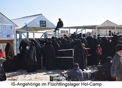 Syrien Lager Hol Camp