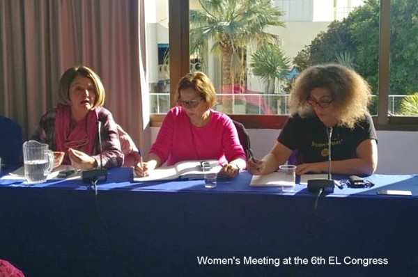 EL2019 Womens meeting 1