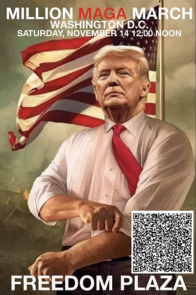 USA ProudBoys Trump Plakat